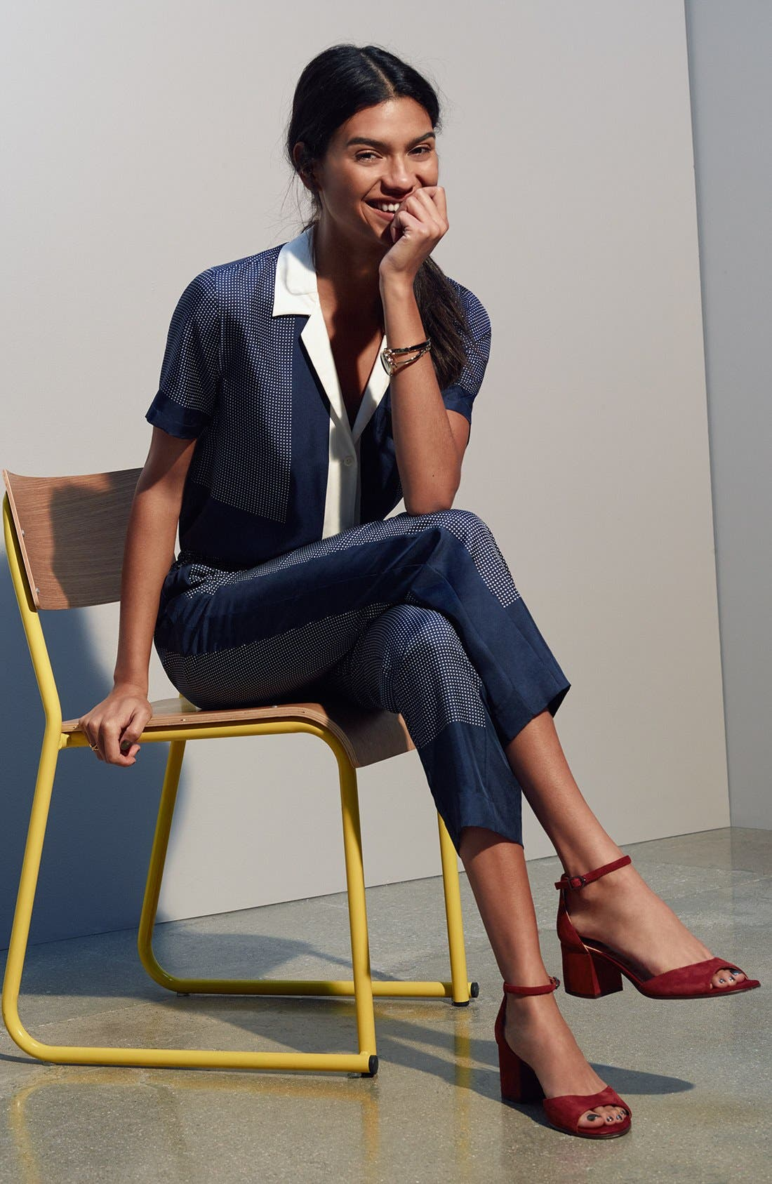 Alternate Image 7  - Sam Edelman Susie d'Orsay Ankle Strap Sandal (Women)