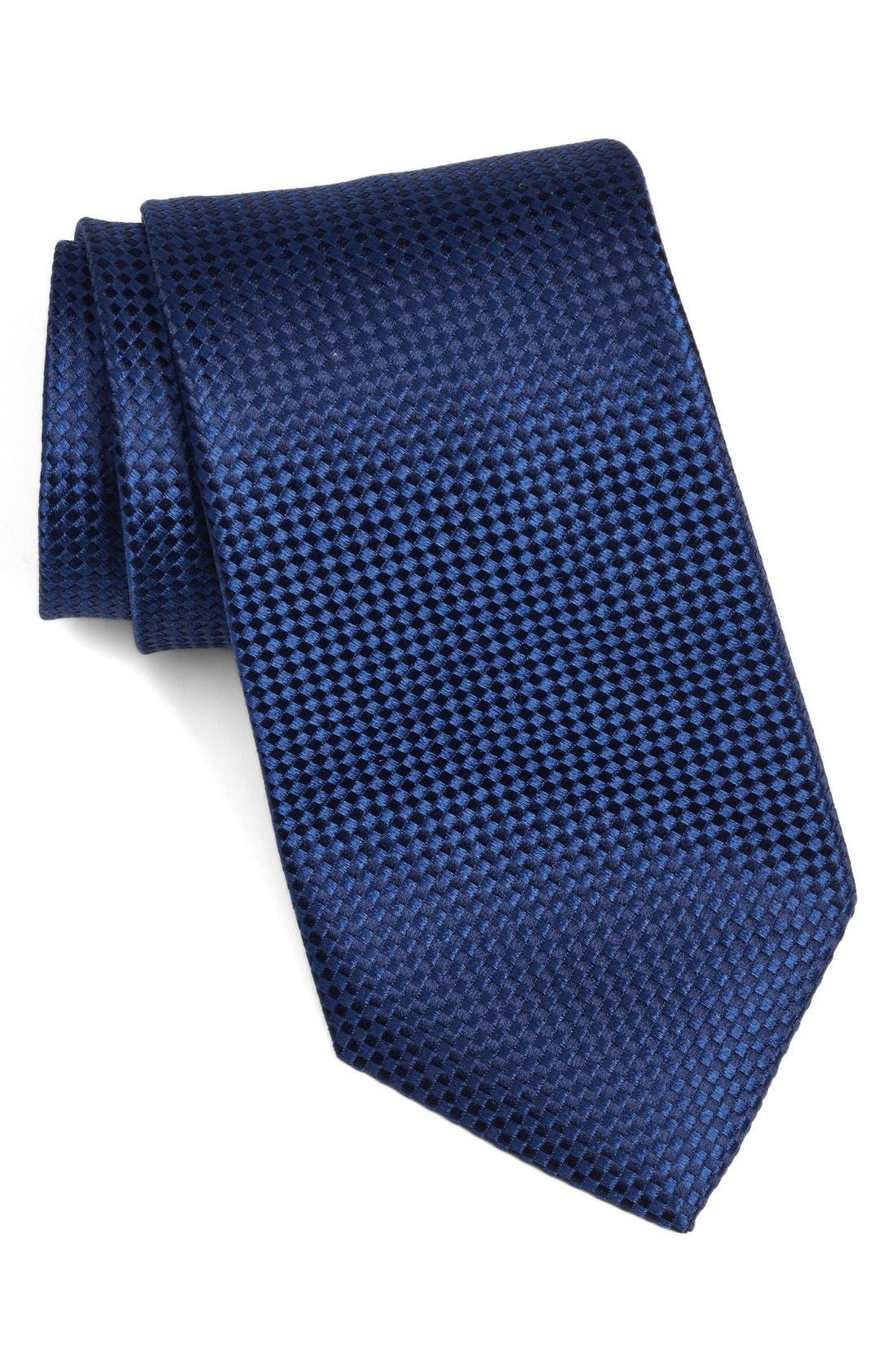 Nordstrom Men's Shop 'Nate' Solid Silk Tie (X-Long)