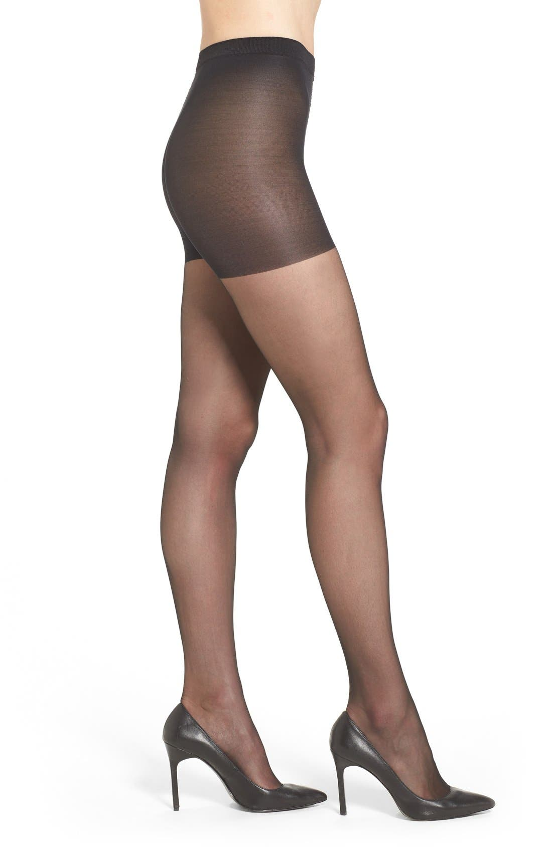 Main Image - Wolford Individual 10 Control Top Pantyhose