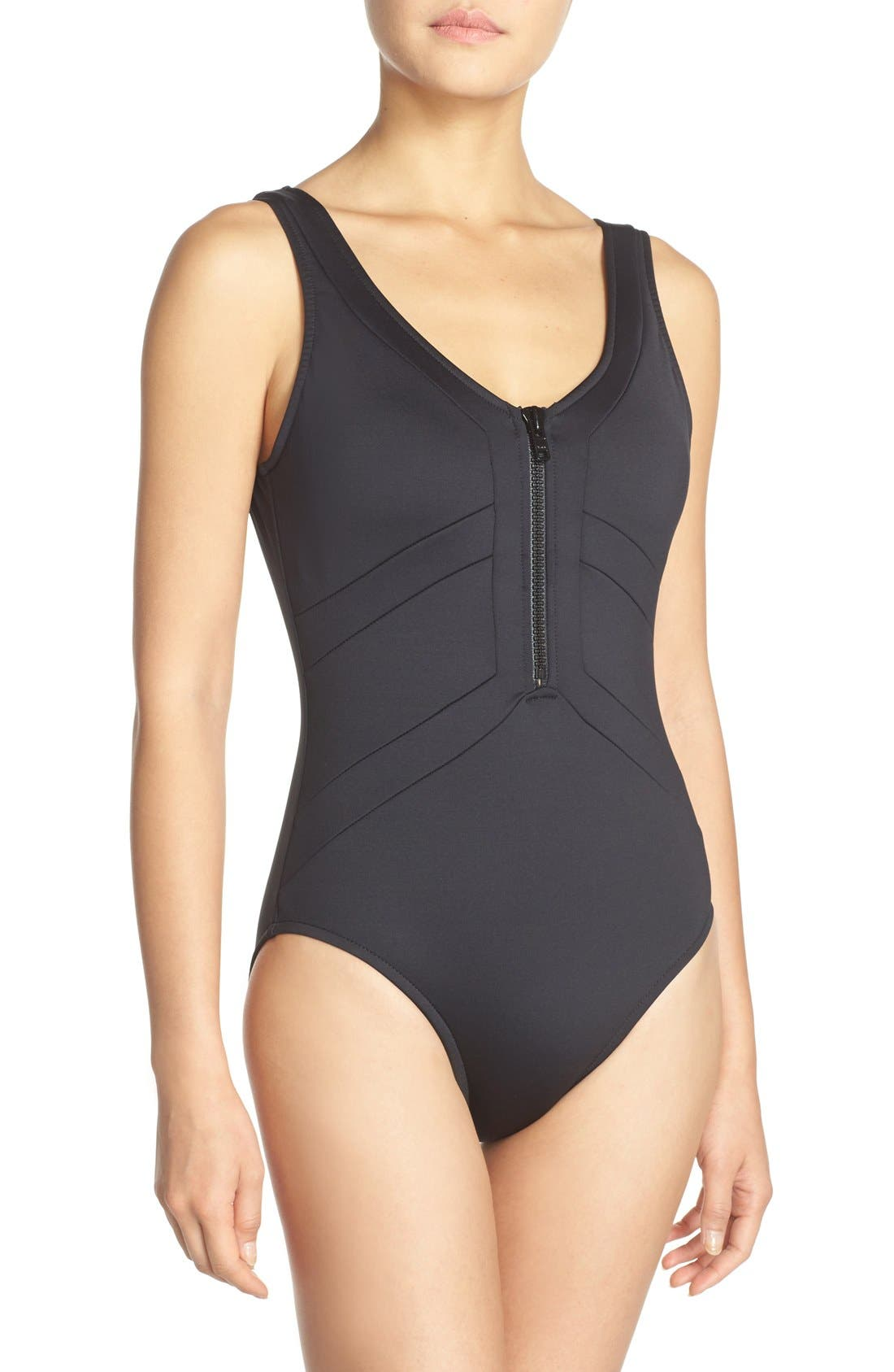 Alternate Image 1 Selected - Magic Suit by Miraclesuit® 'Scuba - Skyler' One-Piece Swimsuit
