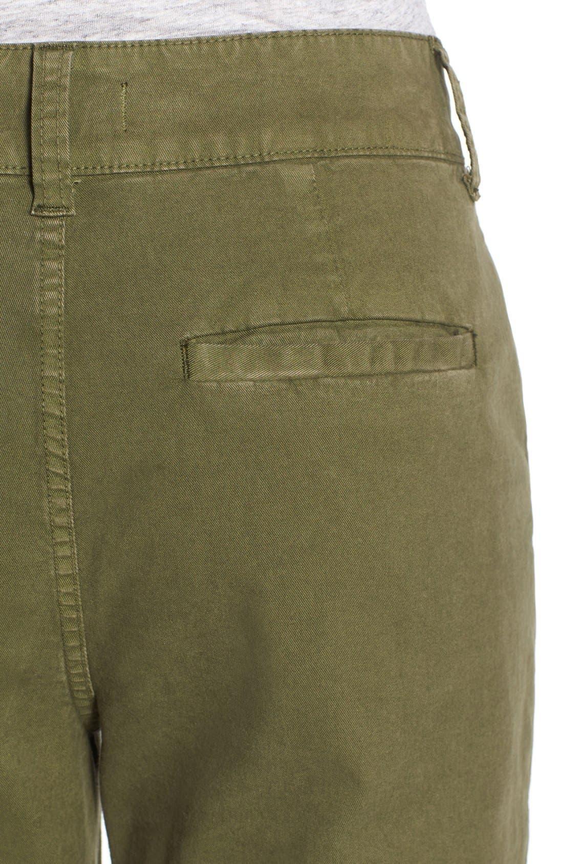 Alternate Image 4  - Madewell High Rise Straight Leg Chino Pants