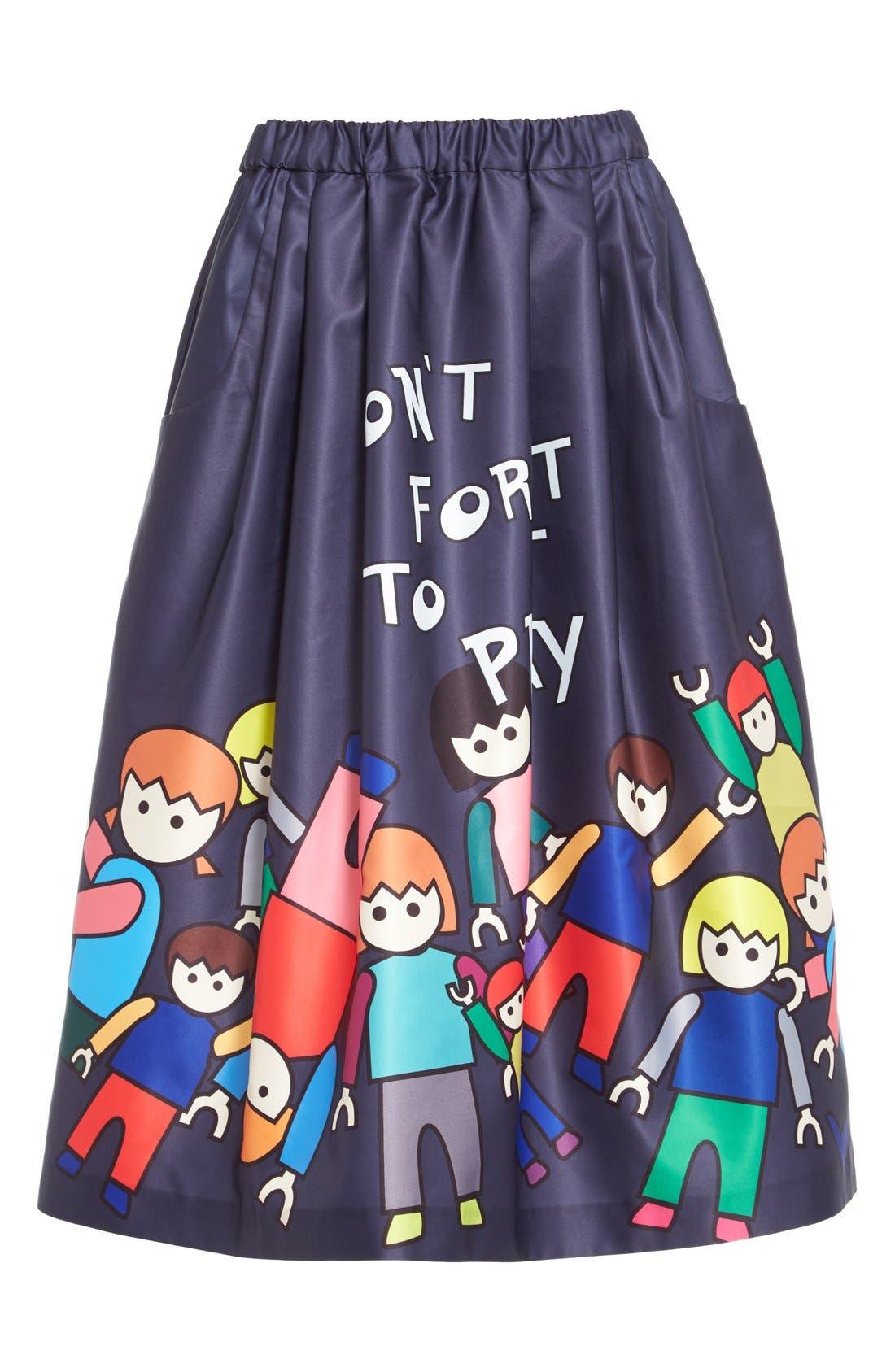 Alternate Image 4  - Mira Mikati 'Little People' Skirt (Nordstrom Exclusive)