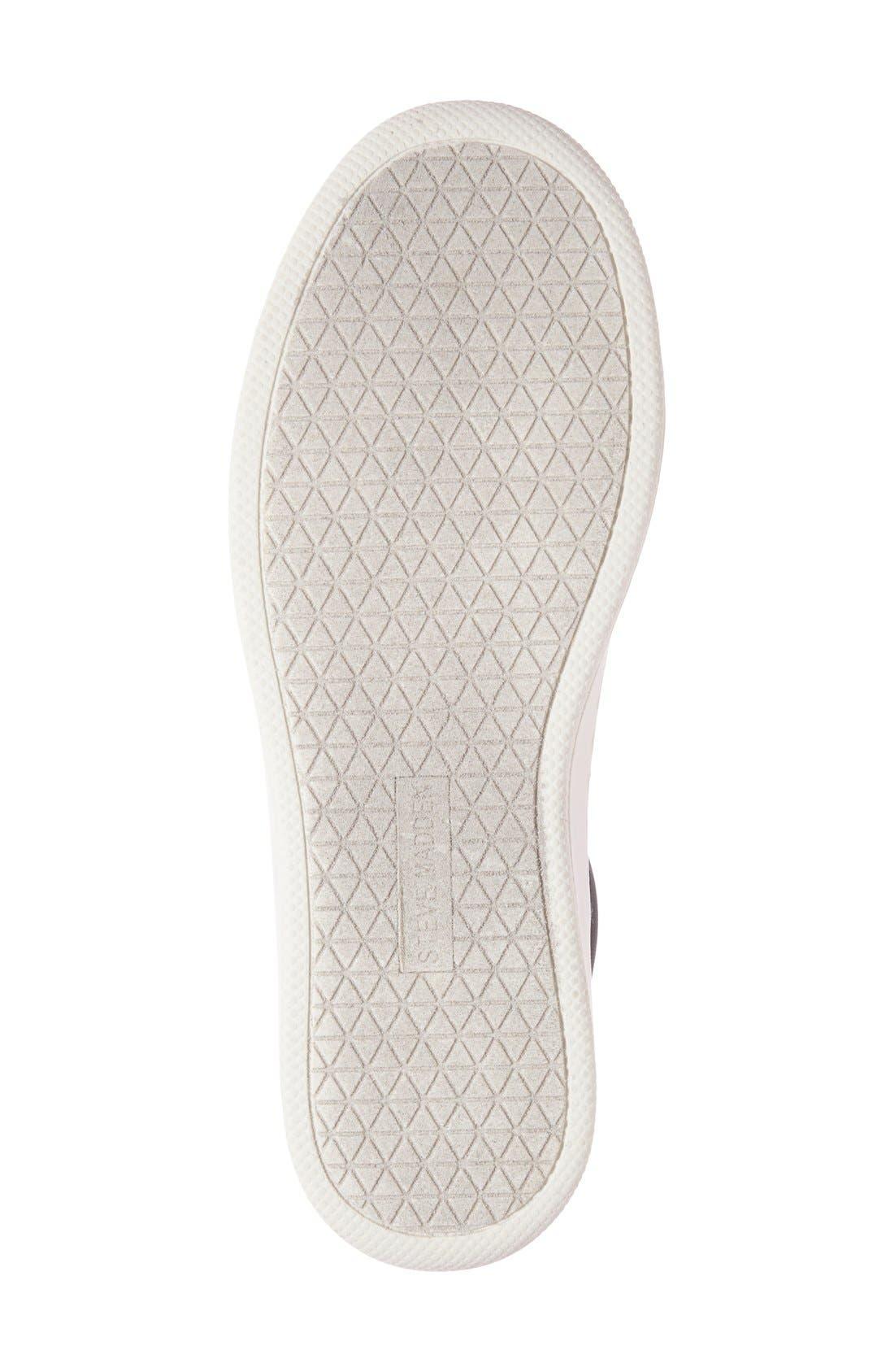 Alternate Image 4  - Steve Madden Bertie Metallic Platform Sneaker (Women)