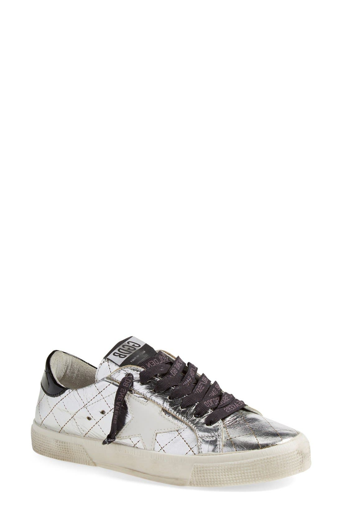 Alternate Image 1 Selected - Golden Goose 'May' Low Top Sneaker (Women)