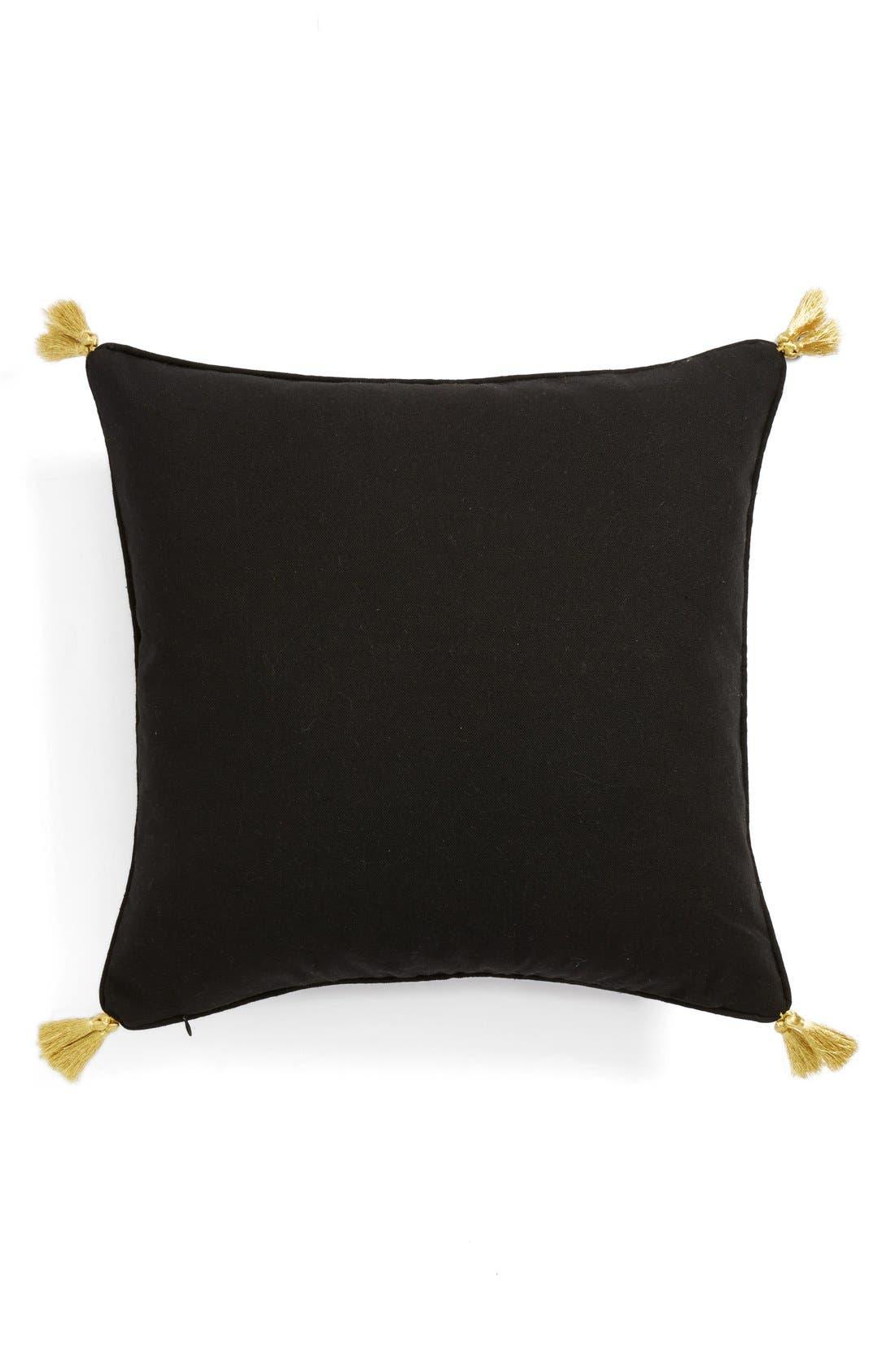 Alternate Image 2  - Levtex 'Skull Tassel' Pillow
