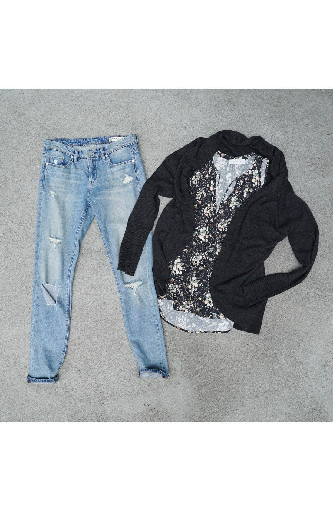 Alternate Image 9  - BLANKNYC 'Skinny Dipper' Distressed Skinny Jeans