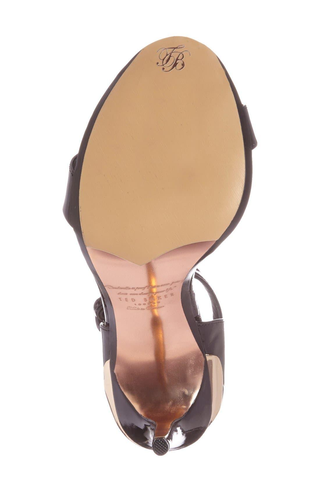 Alternate Image 4  - Ted Baker London 'Rynne' Ankle Strap Sandal (Women)