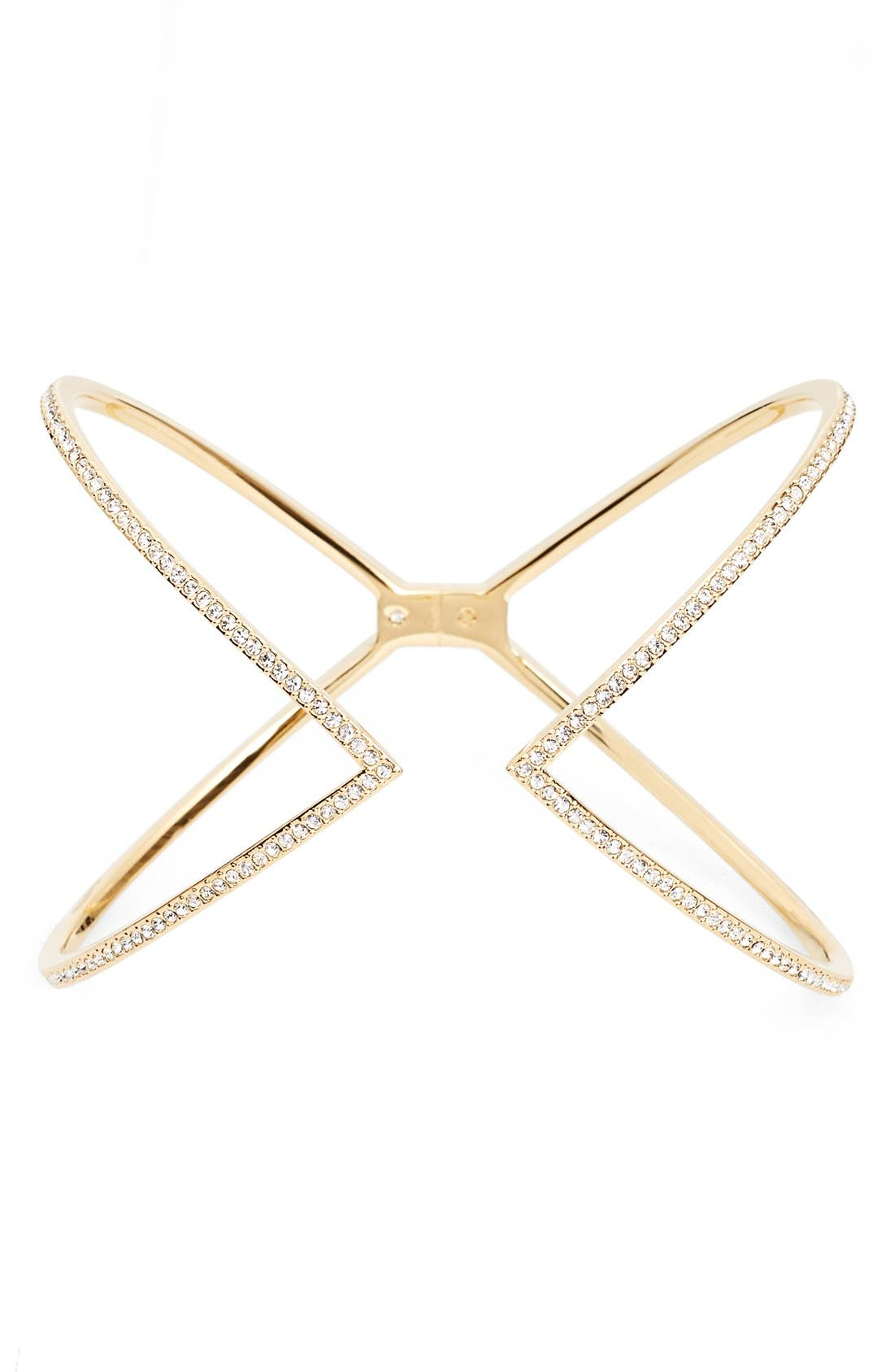 Nadri 'Starry Night' Hinge Cuff