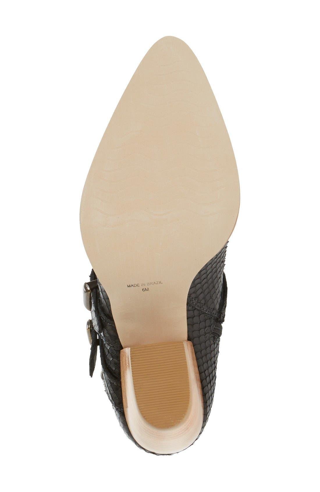 Alternate Image 4  - Matisse 'Harvey' Embossed Buckle Boot (Women)