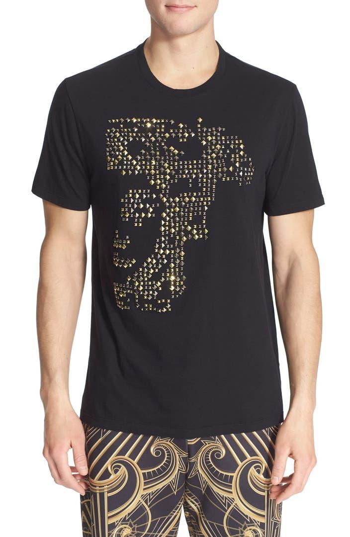 Versace Studded Medusa T Shirt Nordstrom