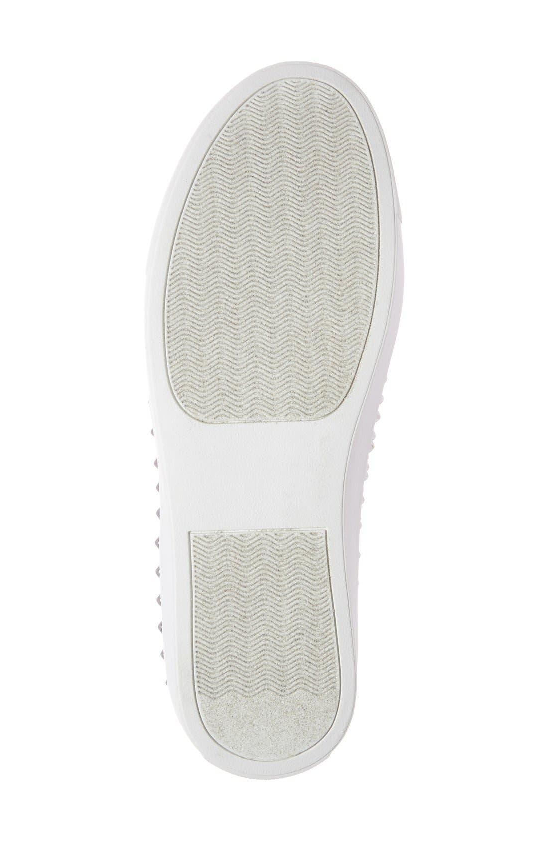 Alternate Image 4  - Steve Madden 'Emmmaa' Studded Slip-On Sneaker (Women)