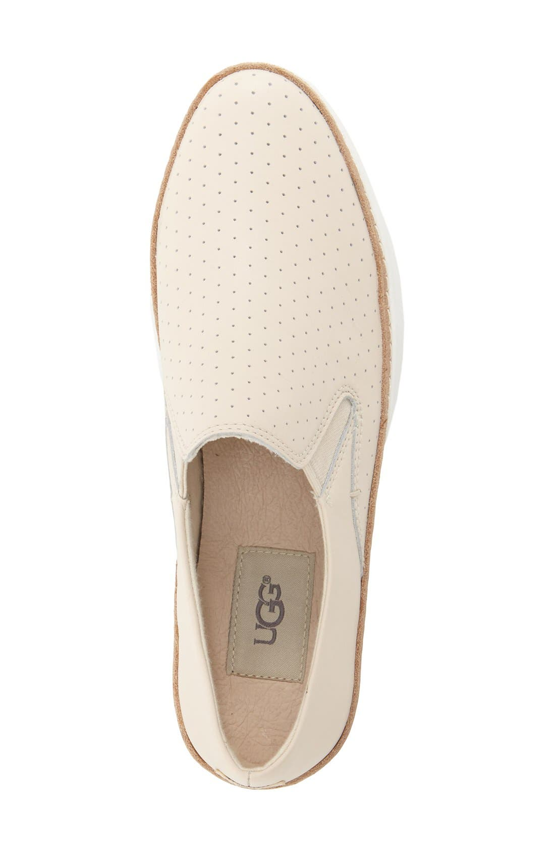 Alternate Image 3  - UGG® 'Keile' Perforated Sneaker (Women)