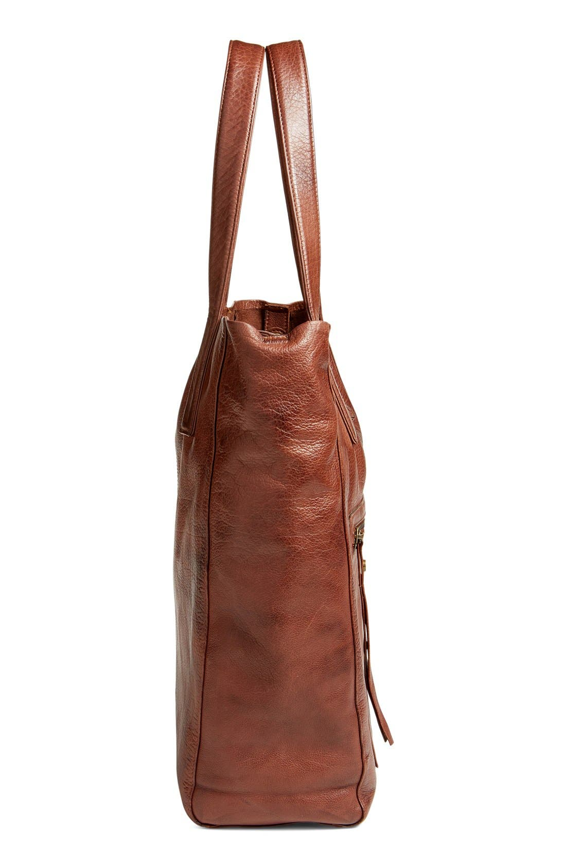 Alternate Image 5  - DAY & MOOD 'Nola' Leather Tote