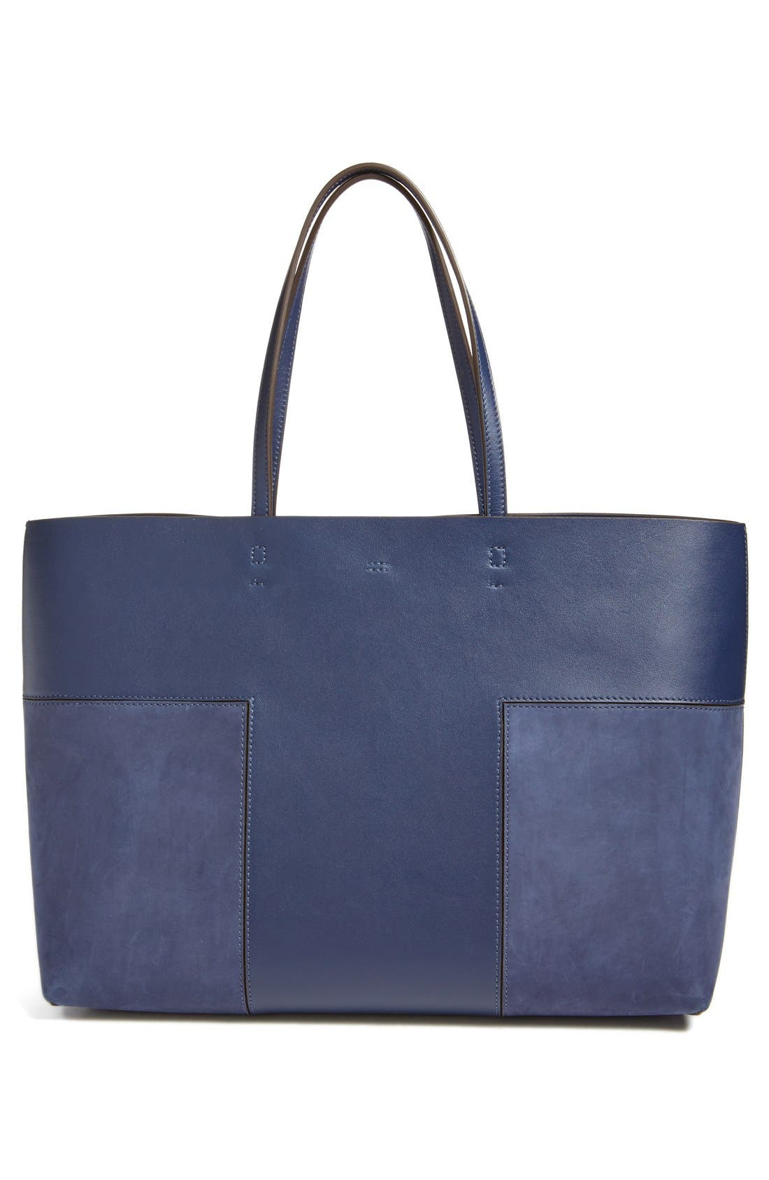 Alternate Image 2  - Tory Burch 'Block T' Leather Tote