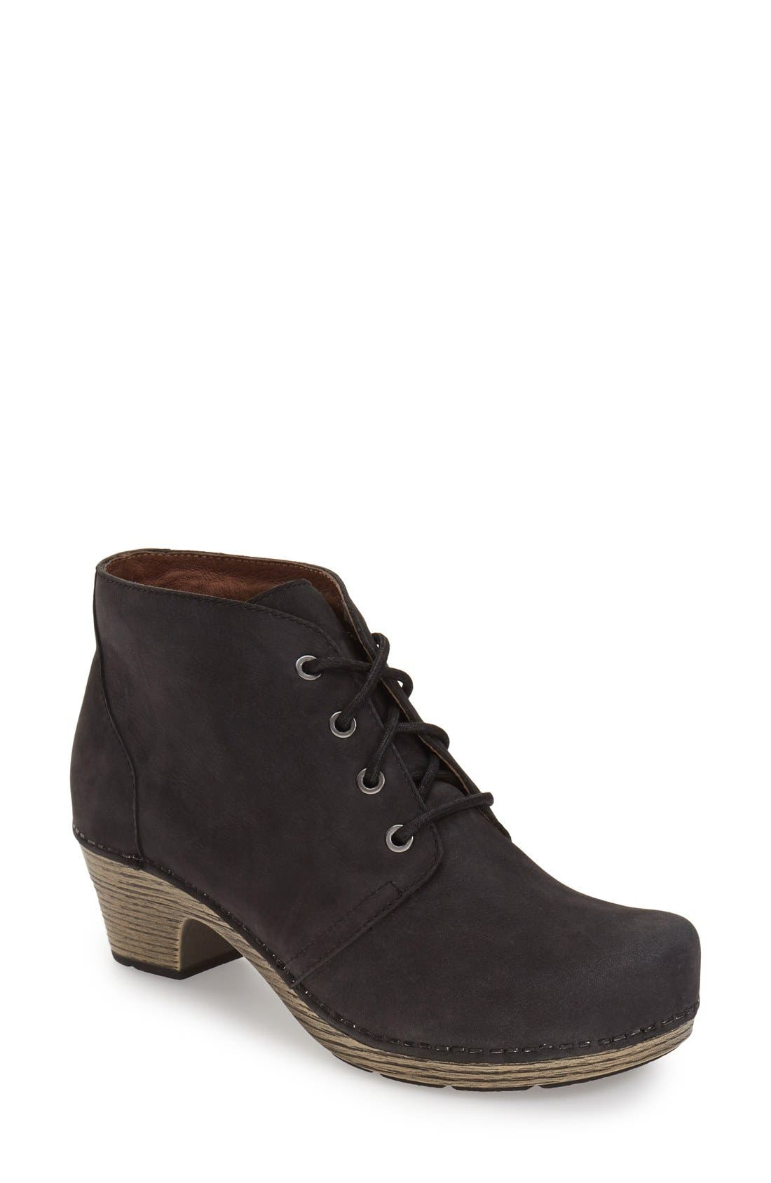 Alternate Image 1 Selected - Dansko 'Meena' Lace-Up Bootie (Women)