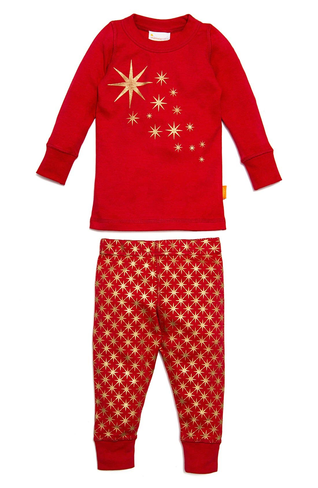 MASALABABY Twinkle Star Fitted Two-Piece Pajamas