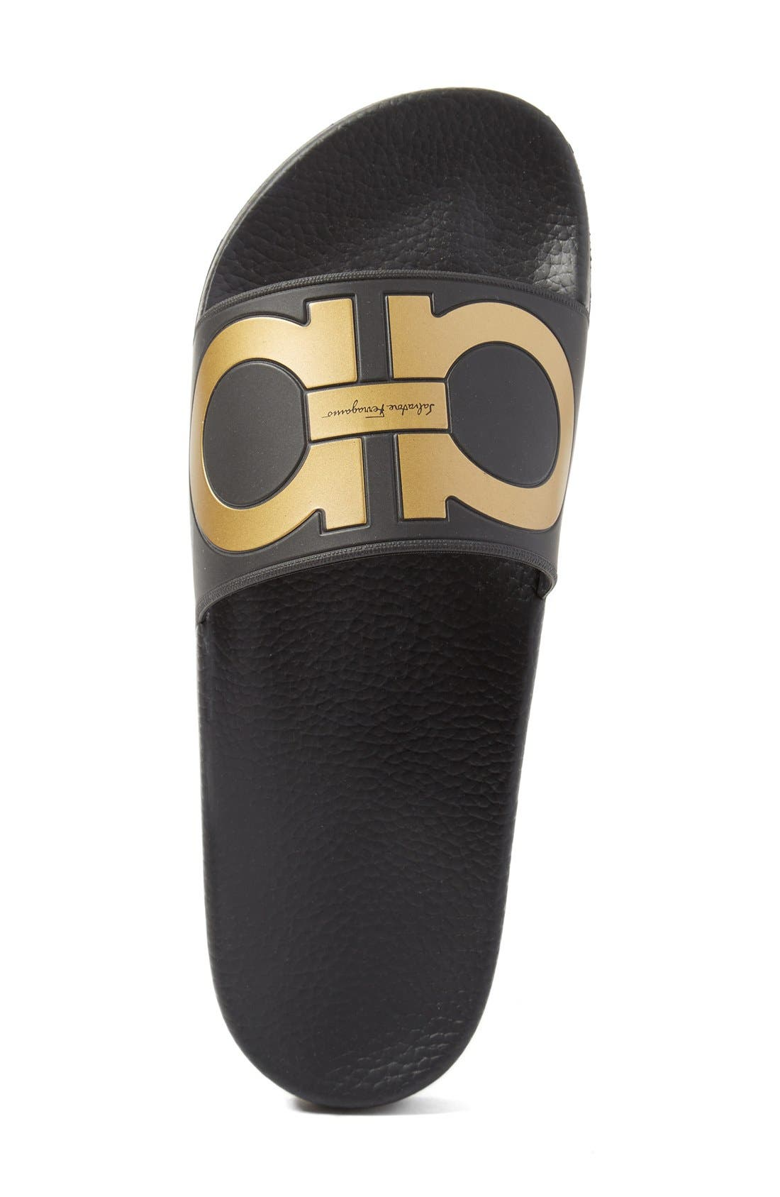Alternate Image 3  - Salvatore Ferragamo 'Groove' Slide Sandal (Men)