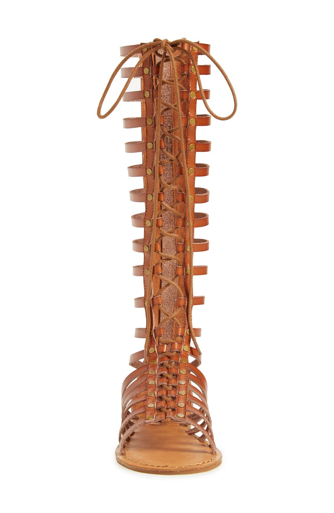 Alternate Image 3  - ZiGi girl 'Jacee' Tall Gladiator Sandal (Women)