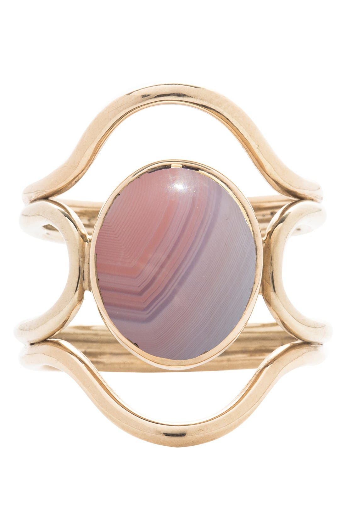 MOCIUN Connection Agate Ring