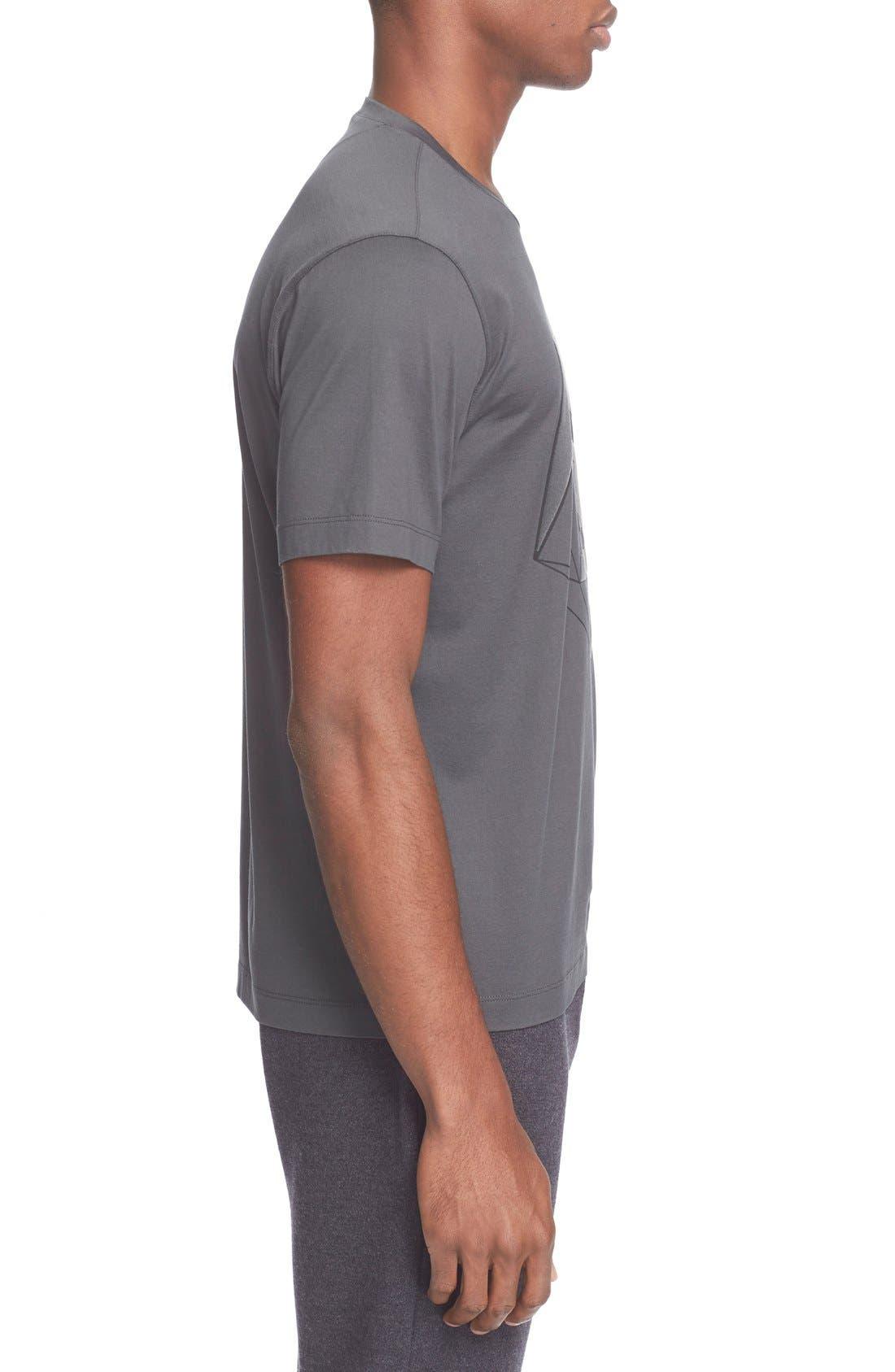 Alternate Image 3  - Z Zegna Flocked Graphic T-Shirt
