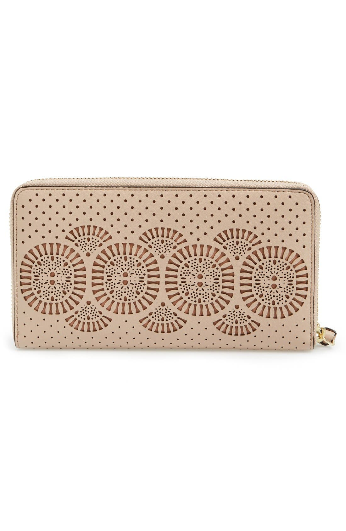 Alternate Image 3  - Tory Burch 'Zoey' Zip Continental Wallet