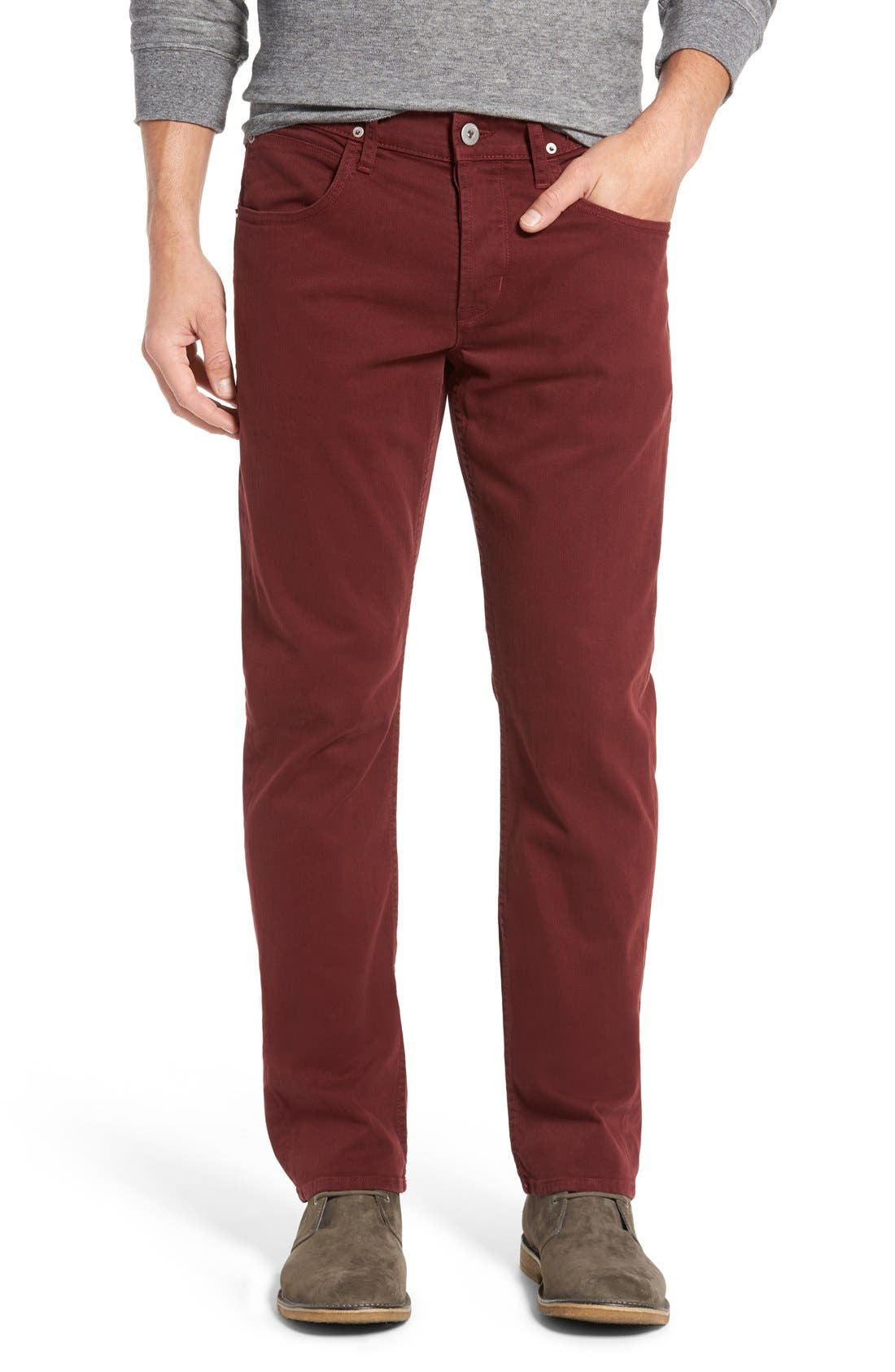 Alternate Image 1 Selected - Hudson Jeans 'Byron' Slim Straight Leg Jeans
