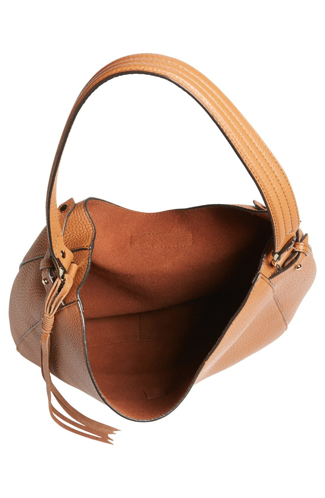 Alternate Image 4  - Rebecca Minkoff 'Darren' Leather Hobo Bag