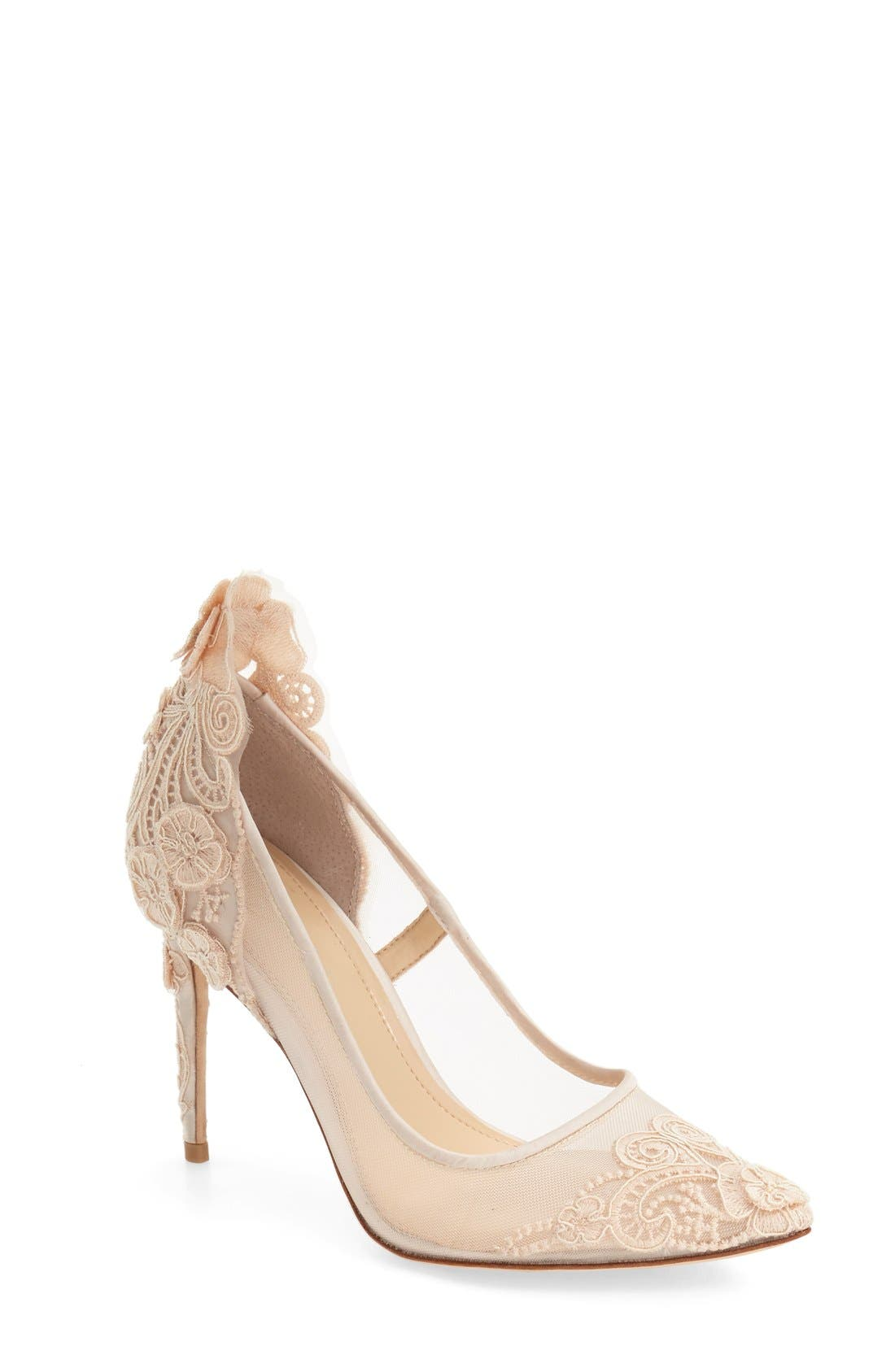 Alternate Image 1 Selected - Imagine by Vince Camuto 'Ophelia' Pointy Toe Pump (Women)