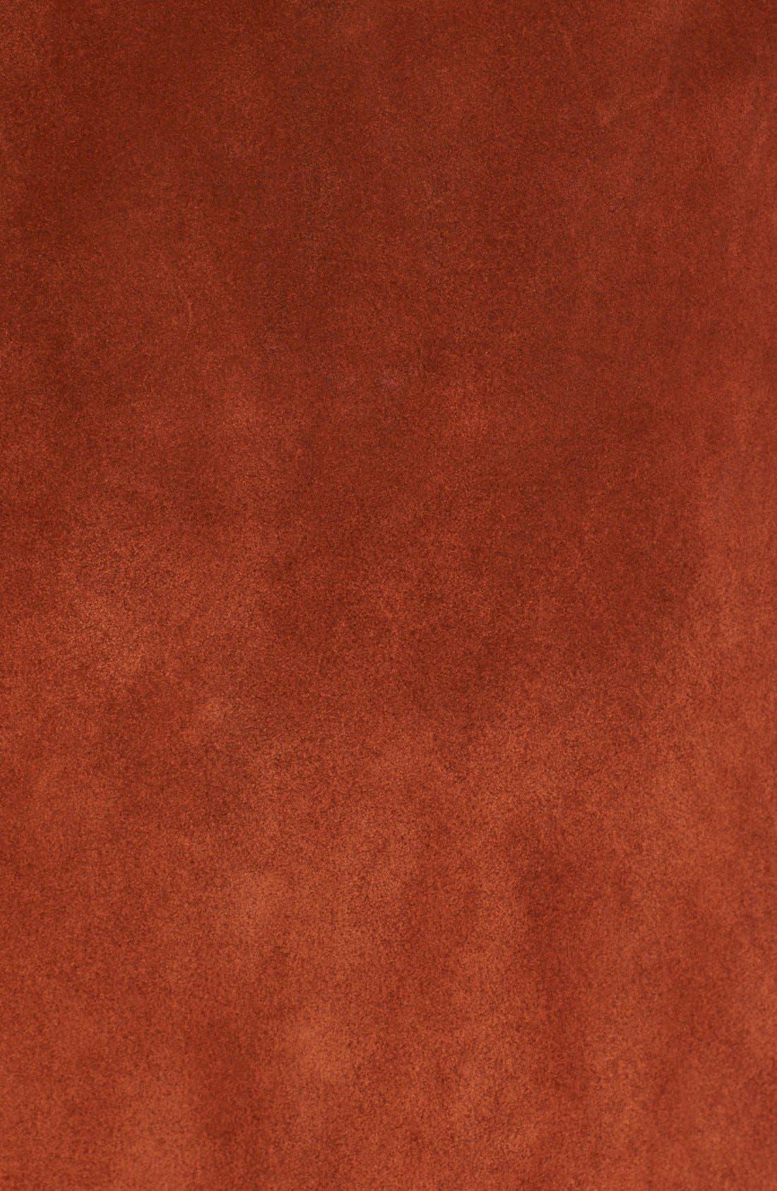 Alternate Image 6  - Diane von Furstenberg 'Gracelynn' Suede Midi Skirt