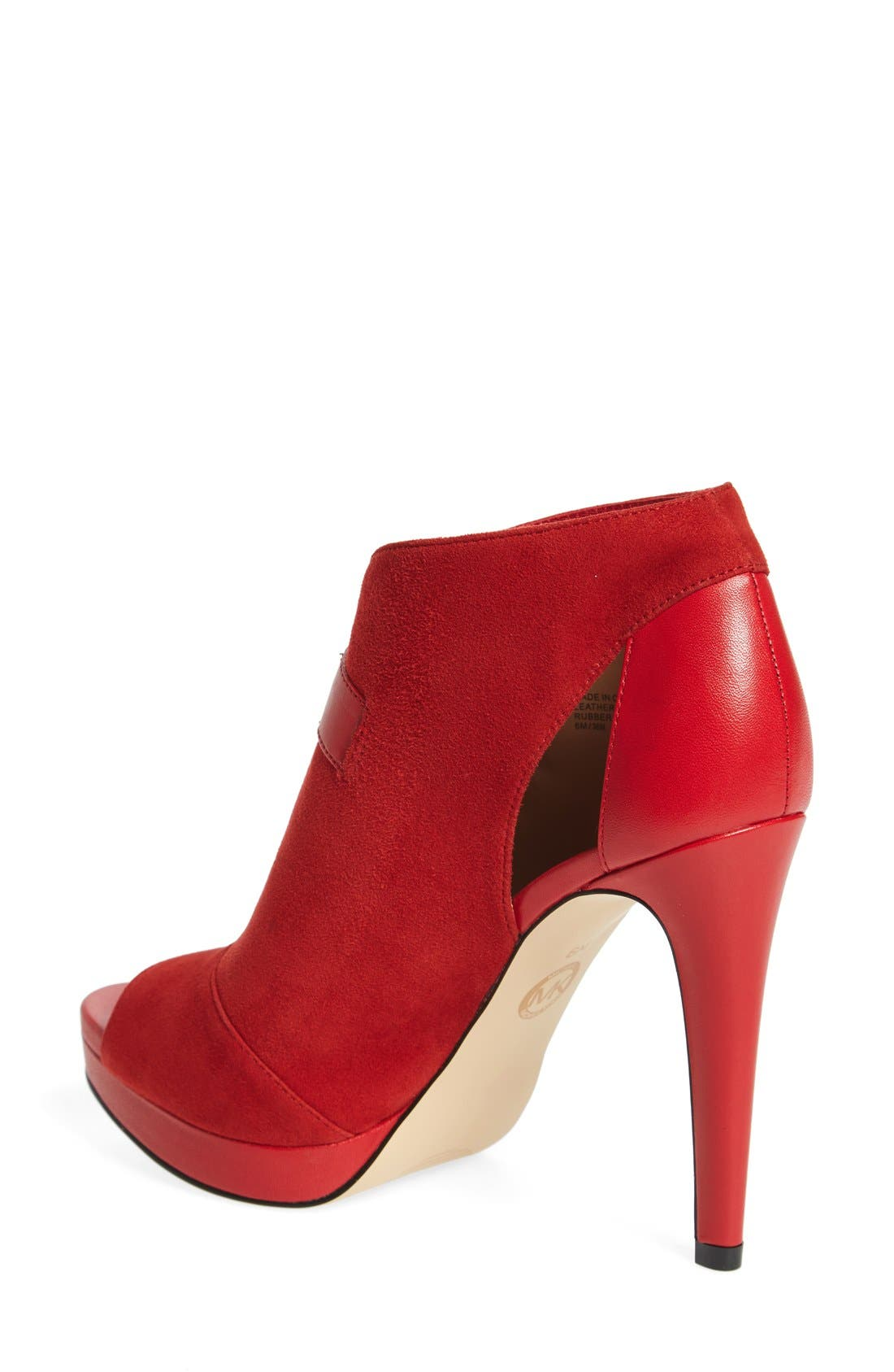 Alternate Image 2  - MICHAEL Michael Kors 'Isabella' Split Shaft Platform Bootie (Women)