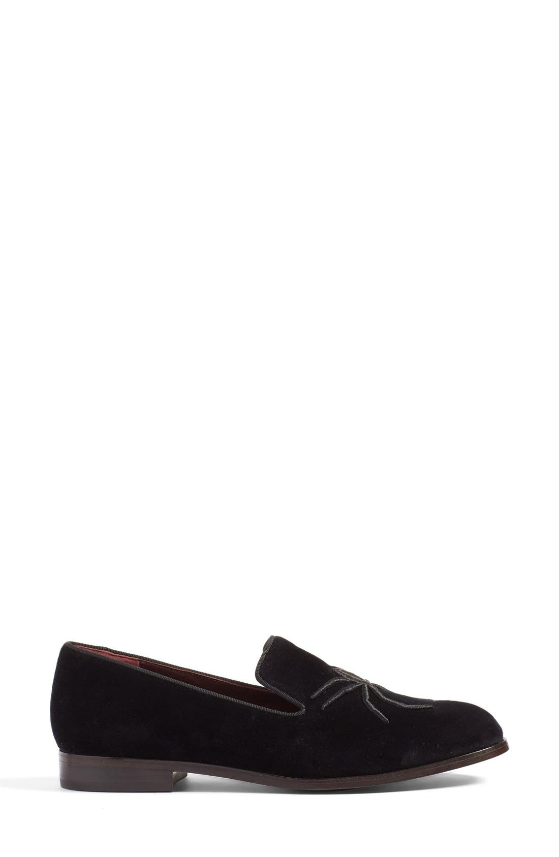 Alternate Image 4  - MARC JACOBS 'Zoe' Embroidered Spider Loafer (Women)