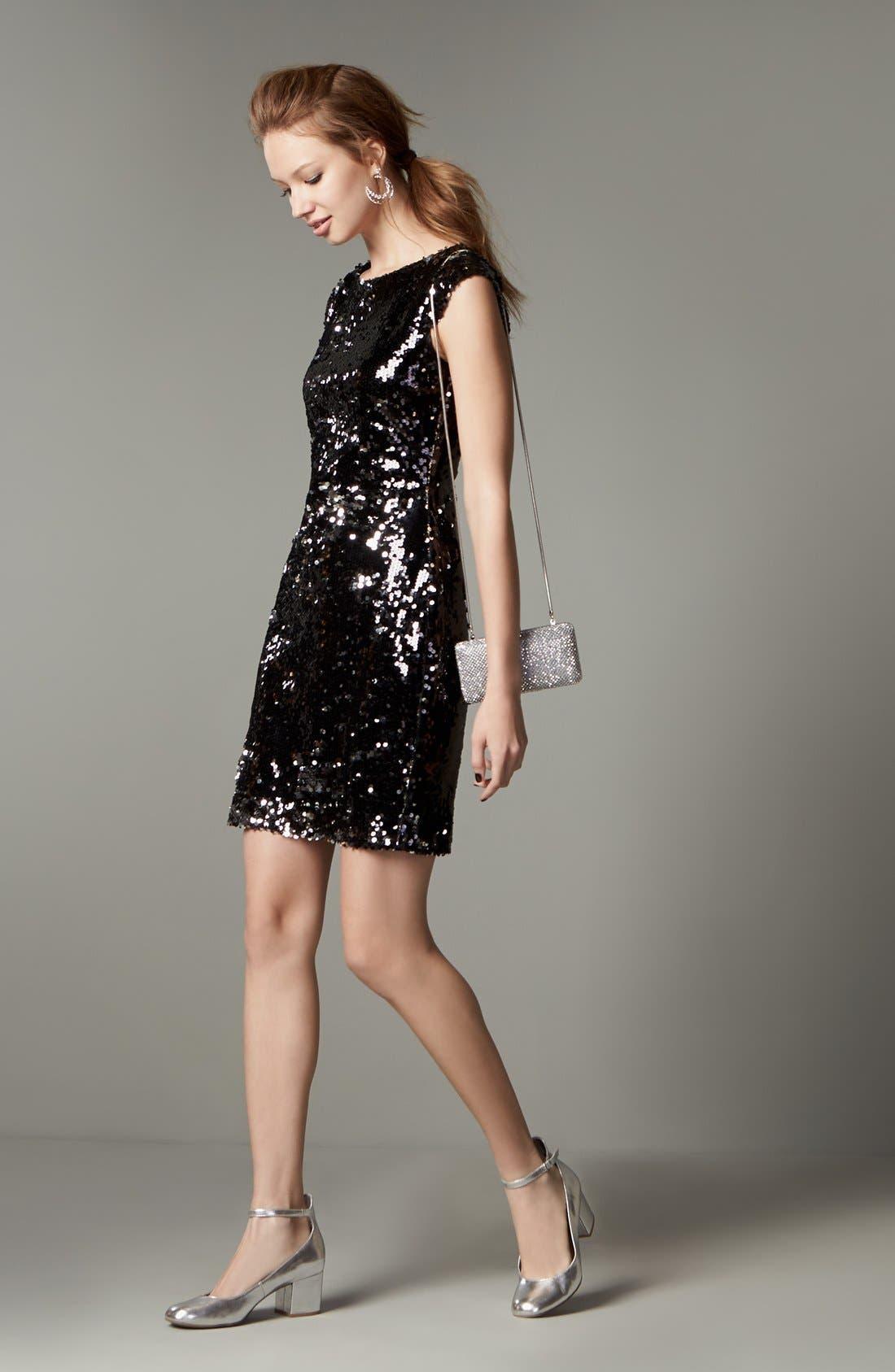 Alternate Image 6  - Speechless Embellished Body-Con Dress