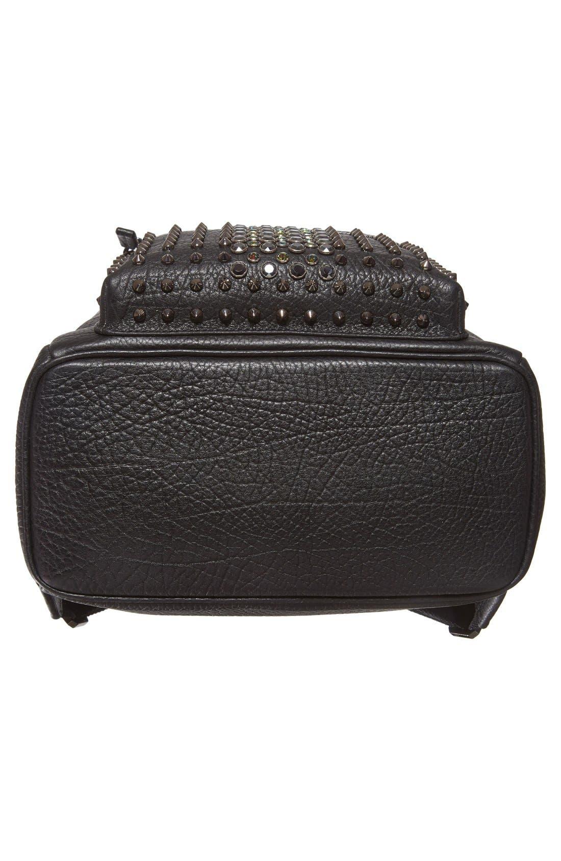 Alternate Image 6  - MCM 'Small Stark Special' Swarovski Crystal Embellished Leather Backpack
