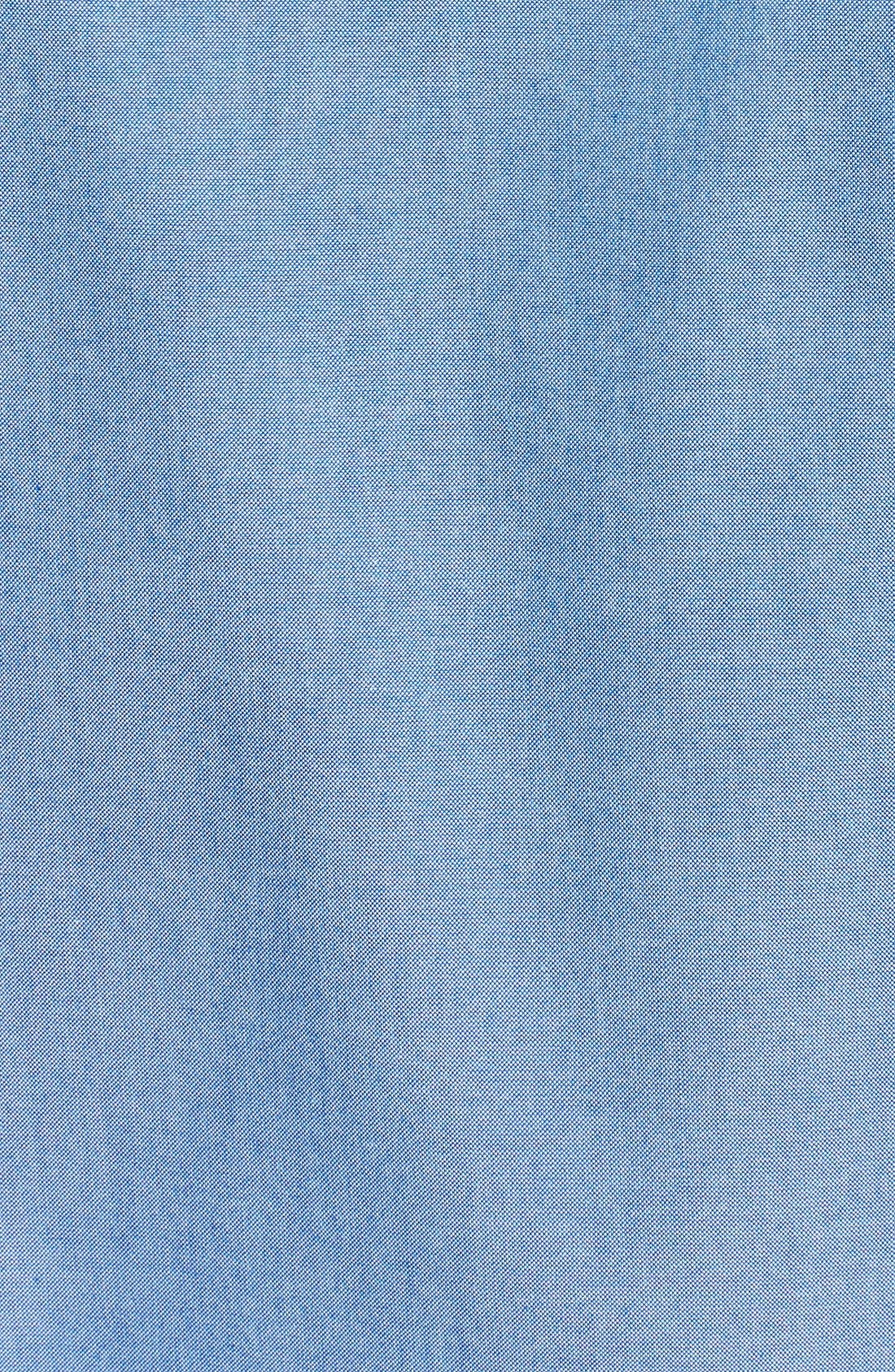 Alternate Image 3  - Nordstrom Men's Shop Smartcare™ Regular Fit Oxford Sport Shirt