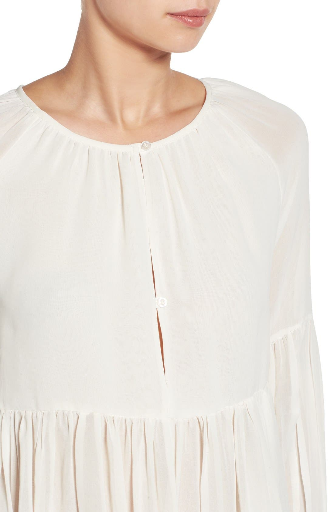 Alternate Image 4  - Sincerely Jules 'Cameron' Chiffon Blouse