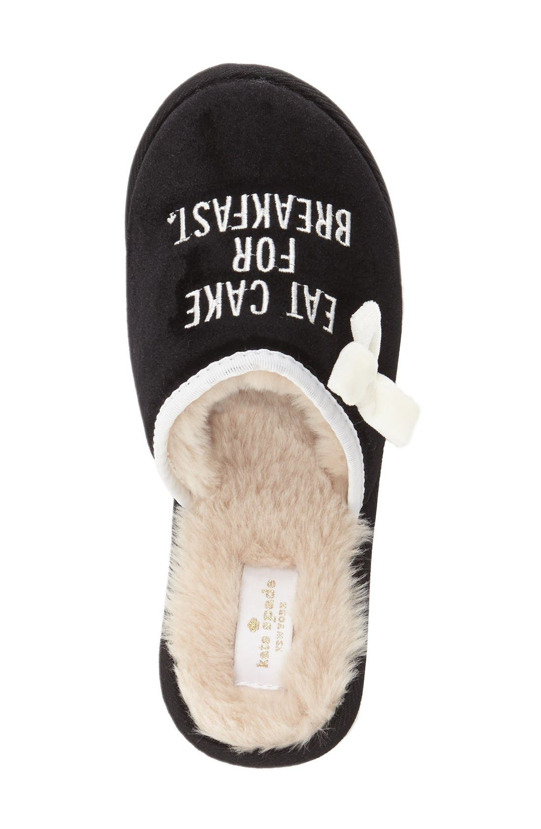 Alternate Image 3  - kate spade new york 'eat cake for breakfast' slipper (Women)