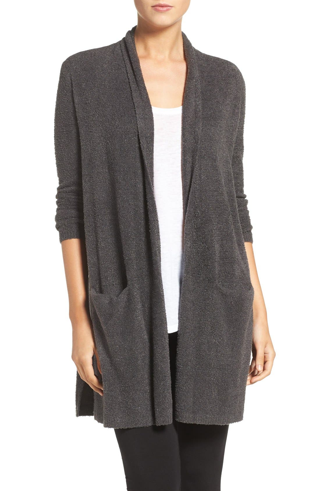Alternate Image 1 Selected - Barefoot Dreams® CozyChic Lite® Long Essential Cardigan