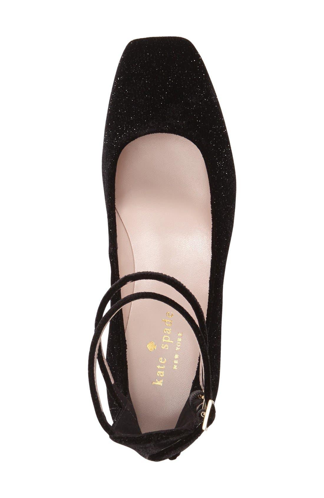 Alternate Image 3  - kate spade new york 'marcellina' ankle strap pump (Women)