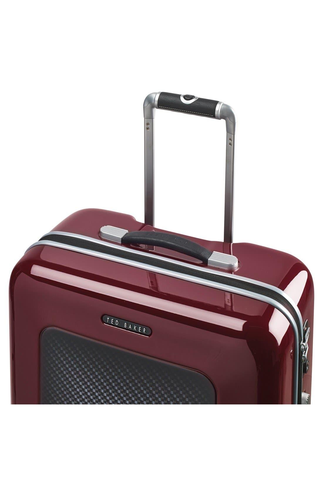 Alternate Image 5  - Ted Baker London 'Large Burgundy' Four Wheel Suitcase (31 Inch)