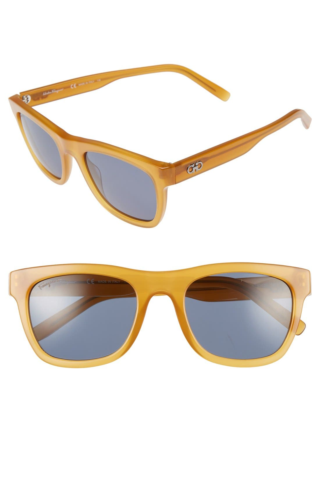 Salvatore Ferragamo 53mm Retro Sunglasses