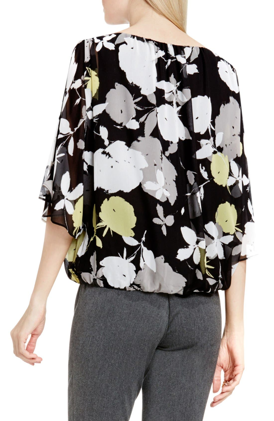 Alternate Image 3  - Vince Camuto 'Chapel Rose' Print Batwing Blouse