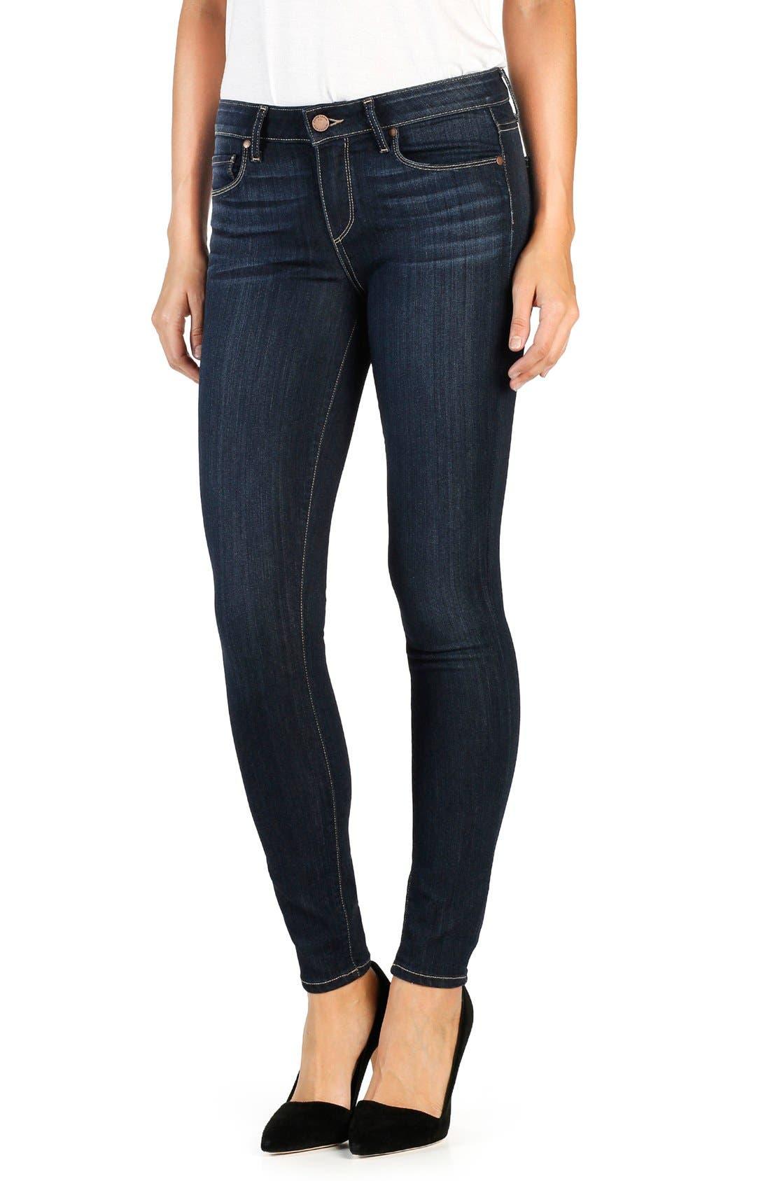 Alternate Image 1 Selected - PAIGE Transcend Verdugo Ultra Skinny Jeans (Seneca)