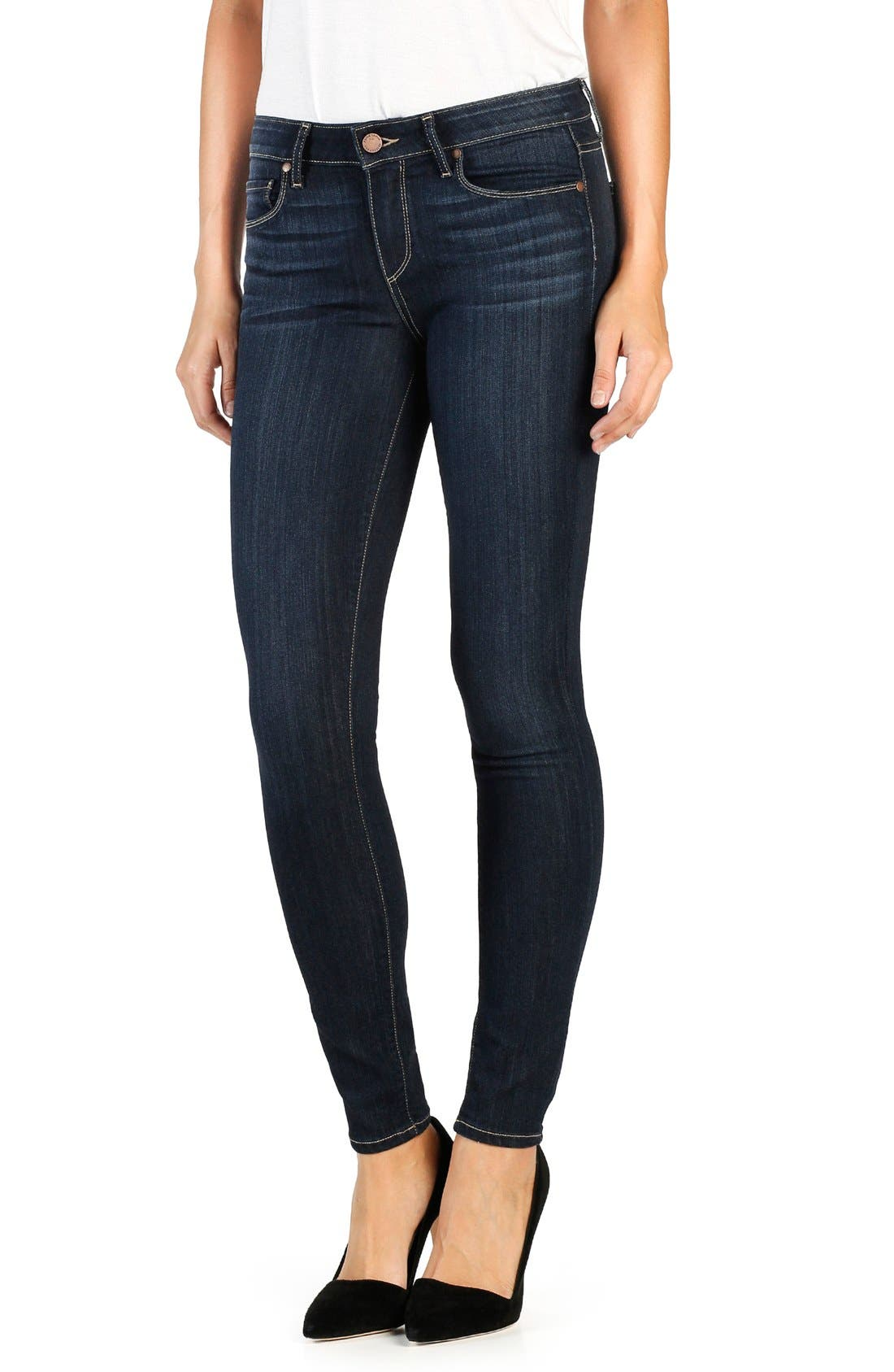 Main Image - PAIGE Transcend Verdugo Ultra Skinny Jeans (Seneca)
