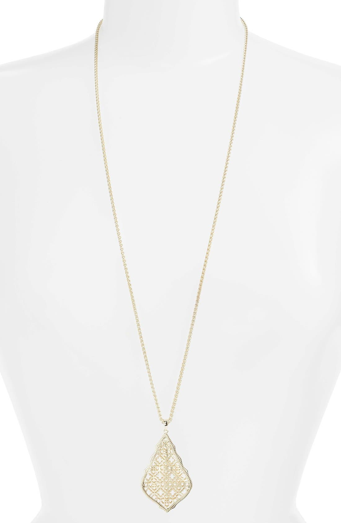 Alternate Image 1 Selected - Kendra Scott 'Aiden' Pendant Necklace