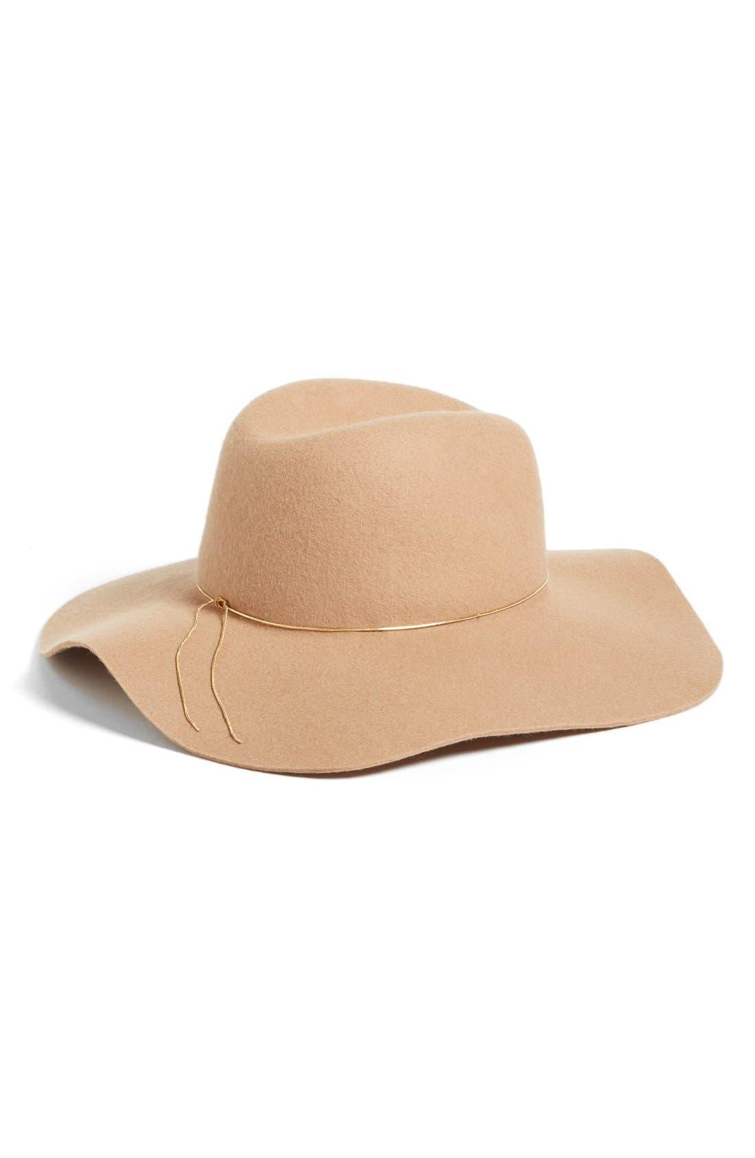 Alternate Image 2  - Hinge Floppy Wool Felt Hat