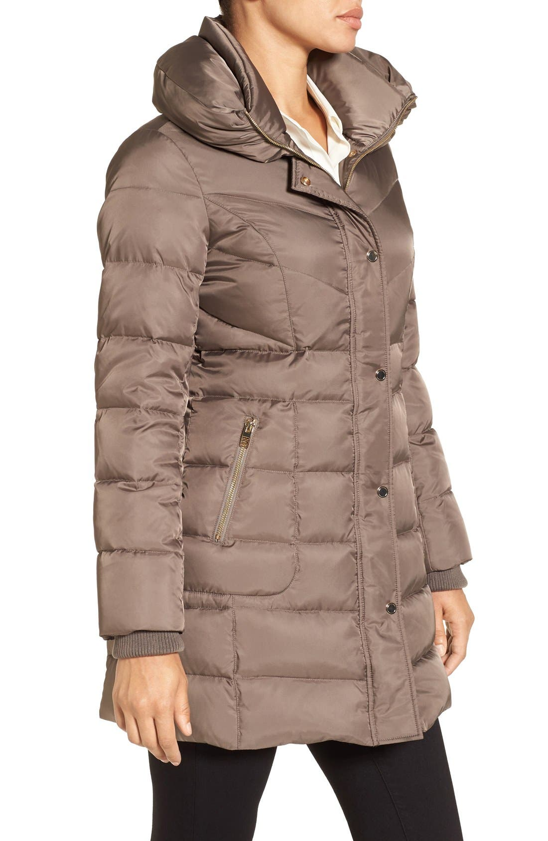 Alternate Image 3  - Kenneth Cole New York Hooded Down Coat
