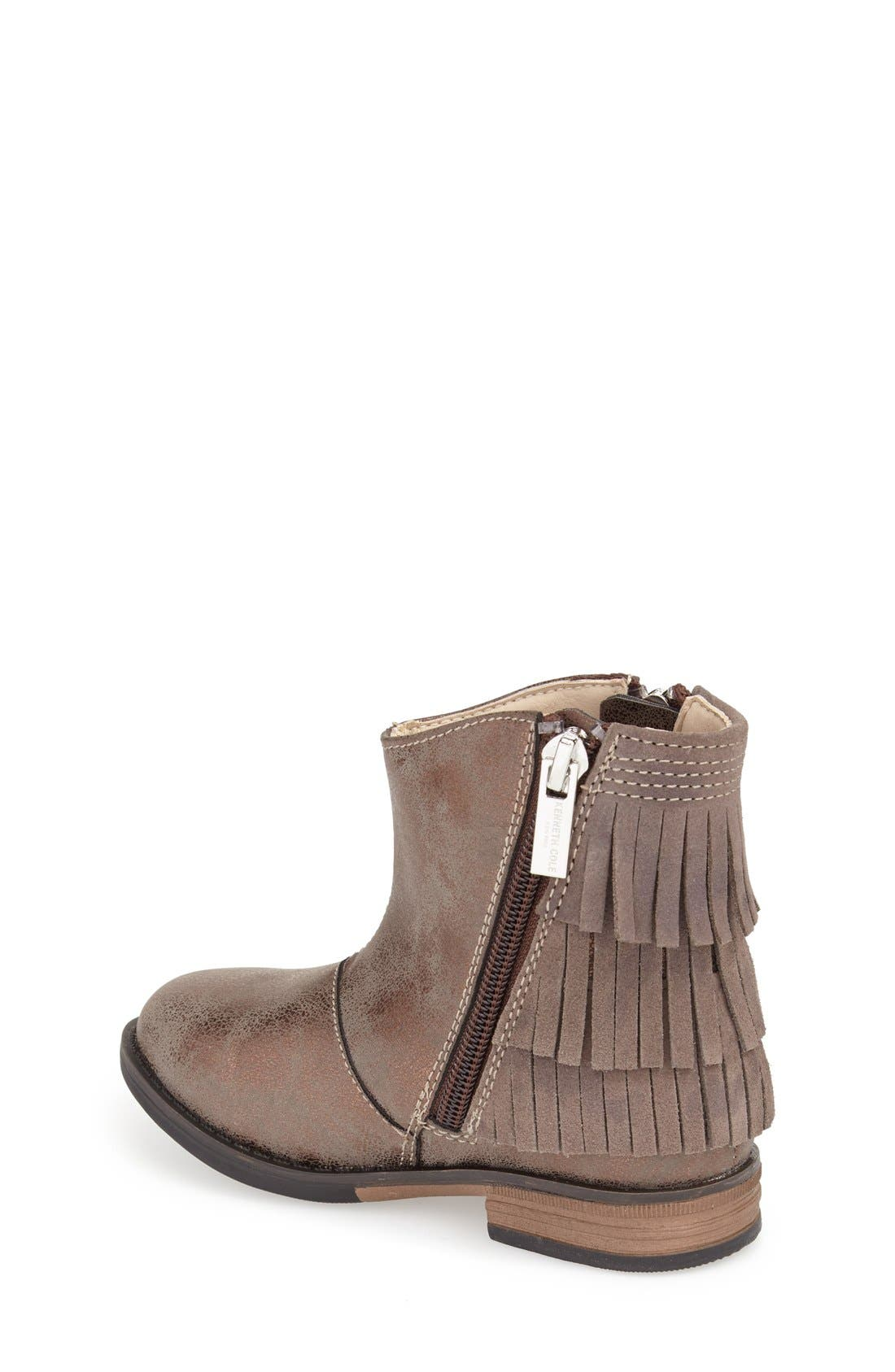 Alternate Image 2  - Kenneth Cole New York 'Downtown' Tiered Fringe Bootie (Toddler, Little Kid & Big Kid)