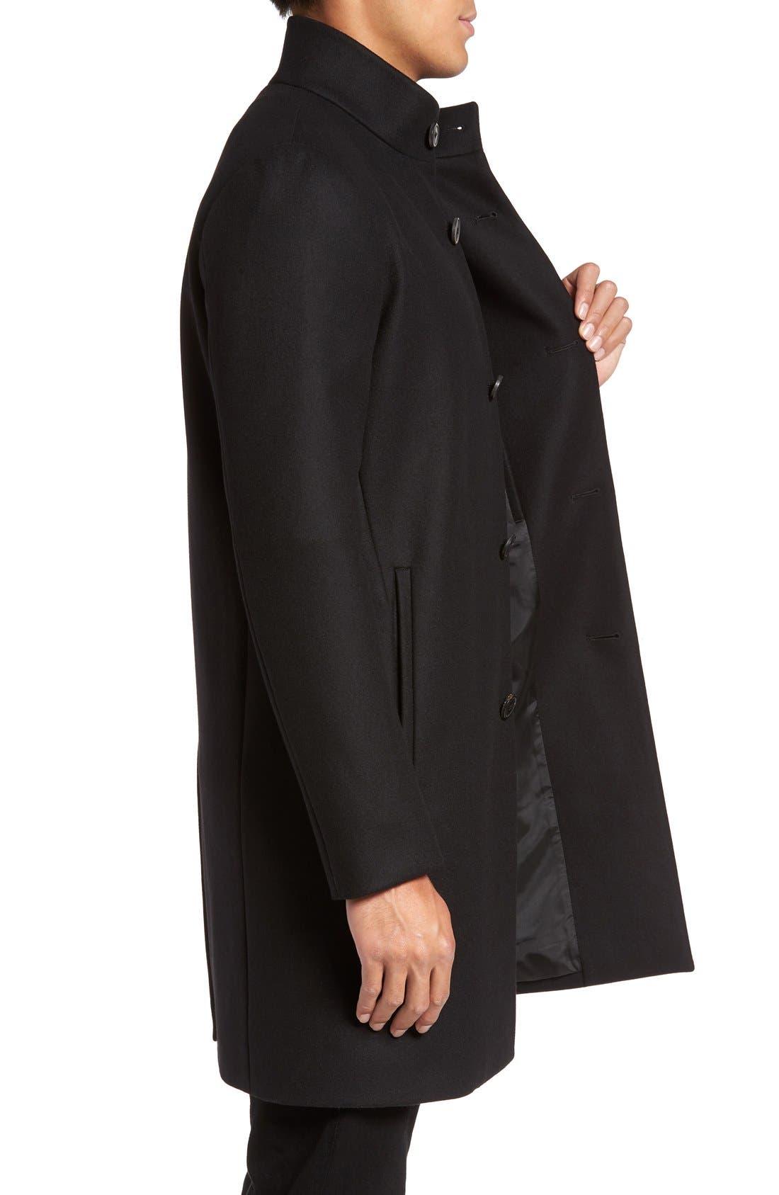 Alternate Image 3  - Theory 'Belvin' Wool Blend Car Coat