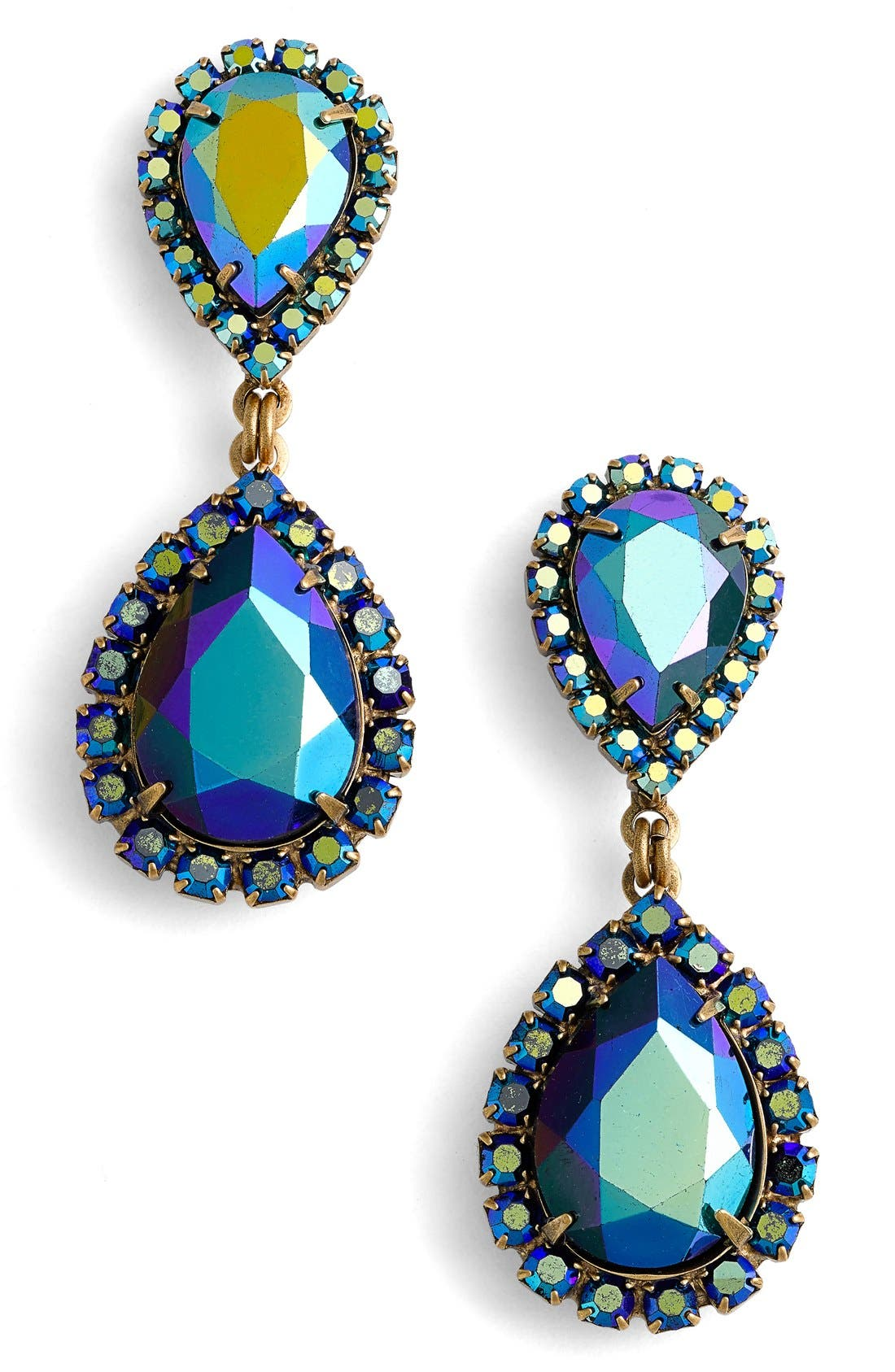 Loren Hope Crystal Drop Earrings