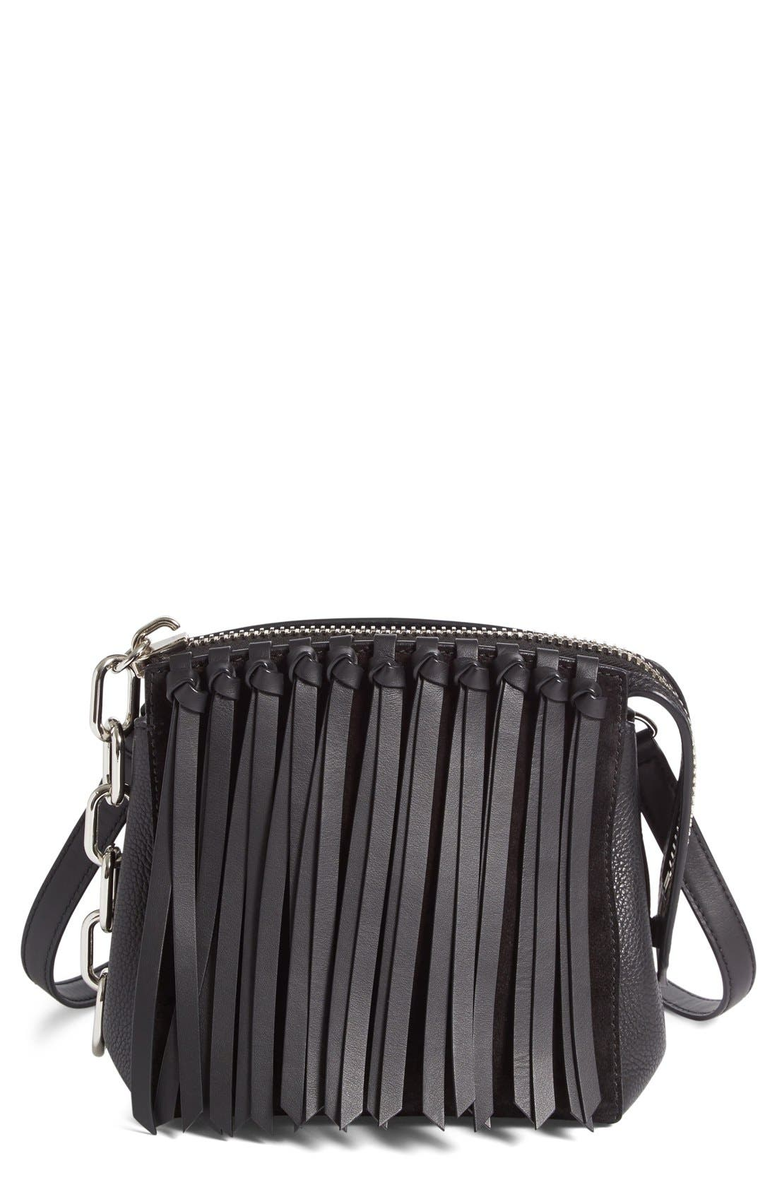 ALEXANDER WANG Attica Fringe Crossbody Bag